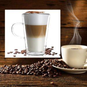 kawa caffe latte