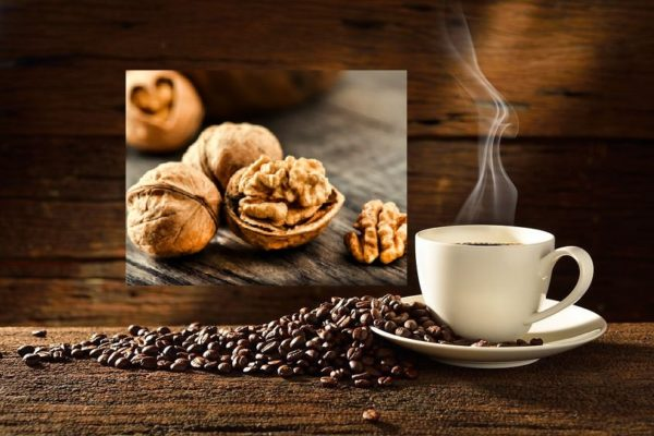 kawa orzech włoski