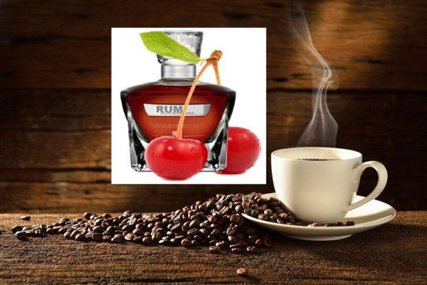 Kawa Wisnia z Rumem